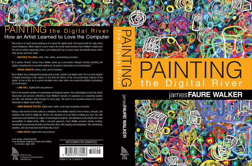 Book, 'Painting the Digital River', author James Faure Walker
