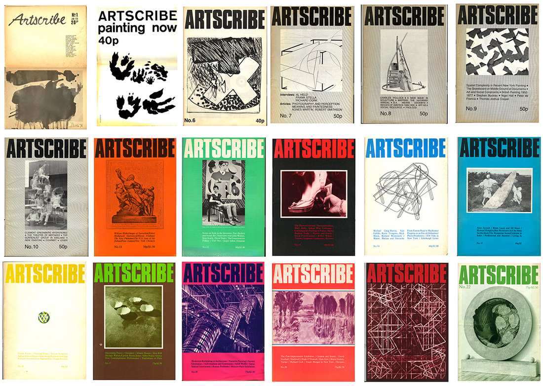 James Faure Walker, founder and editor of Artscribe magazine in the 1970's